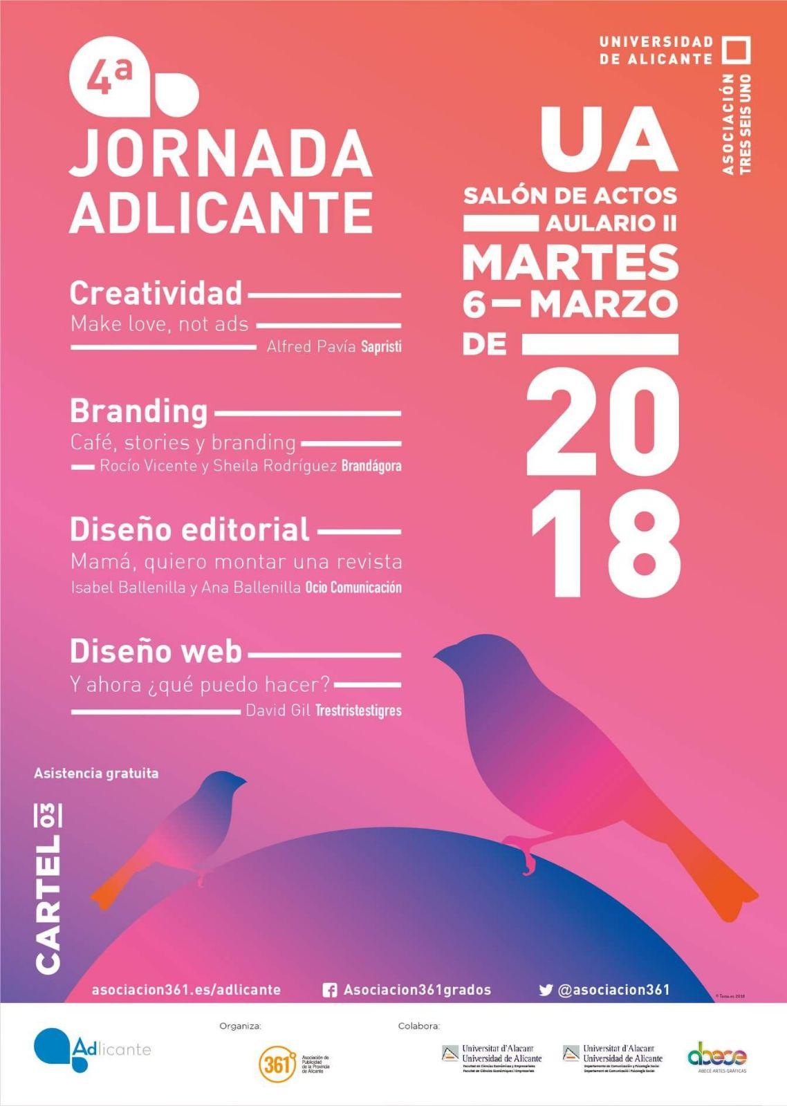 Vuelven las Jornadas de Publicidad Alicante: IV Jornadas Adlicante